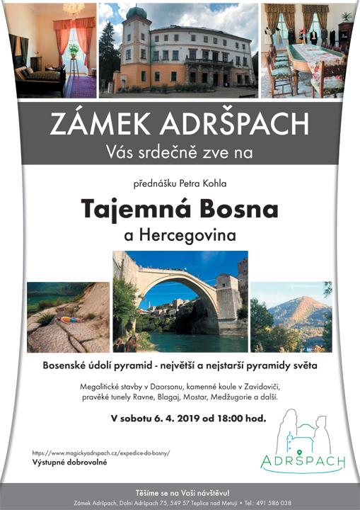 Přednáška Tajemná Bosna a Hercegovina 1